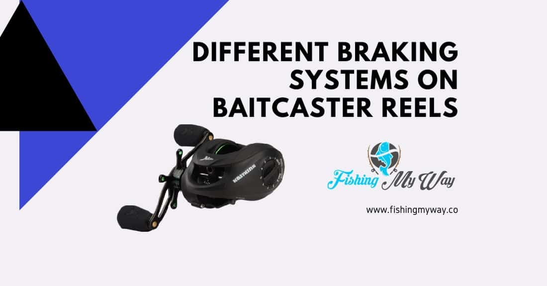braking systems for baitcaster reels