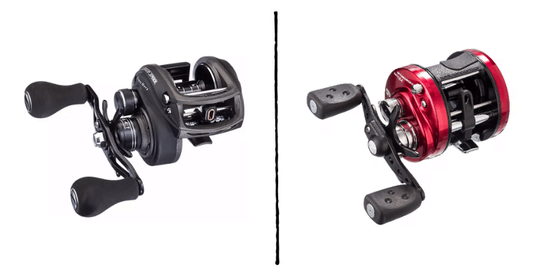 baitcaster reel sizes