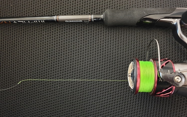how often should you change braided fishing line